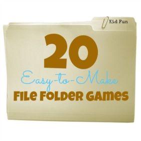 420 20 Easy-to-Make File Folder Games
