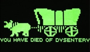 Oregon trail text